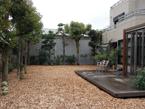 ウッドチップ施工例 千葉県個人邸