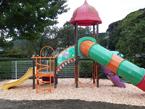 ウッドチップ施工例 幼稚園・園庭